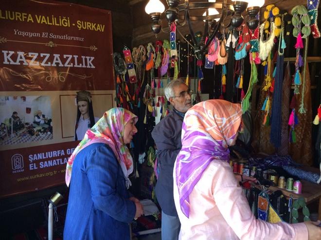 Şanlıurfa'nın Yöresel El Sanatları Ankara'da Tanıtılıyor