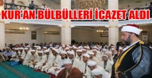 Şanlıurfa'da 70 kıra'at hocası icazet aldı VİDEOLU
