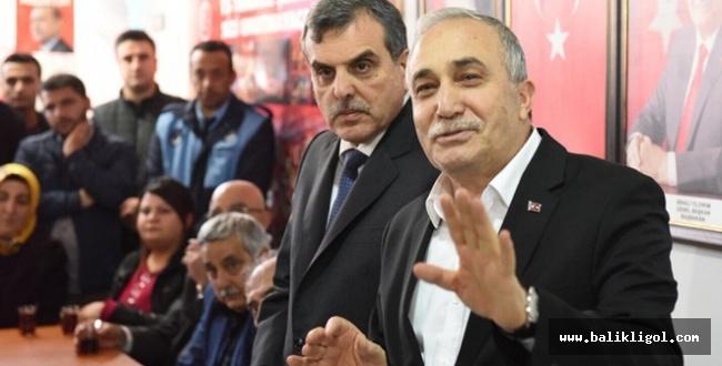 Bakan Fakıbaba Kafaları Karıştırdı! Büyükşehir Başkanlığına mı hazırlanıyor