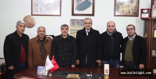 Başkan Demirkol, Urfa'daki oda ve dernekleri ziyaret etti