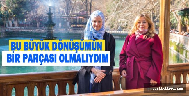 Dünya'nın En Güçlü Müslüman Kadını Gülnur Aybet Urfa'da konuştu