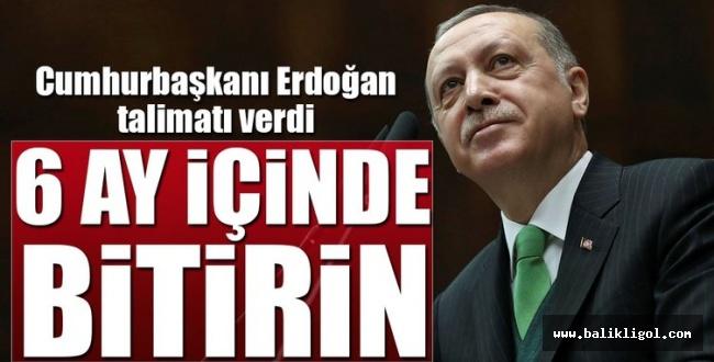 Erdoğan: Uyum yasalarını uzatmadan tamamlayın