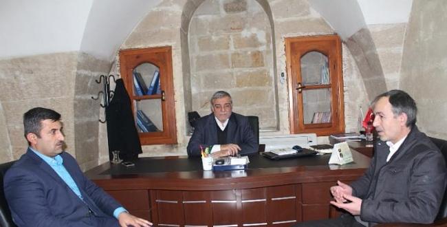 Gazeteciler Birliği Başkanı Polat'tan Kent Konseyine hayırlı olsun ziyareti