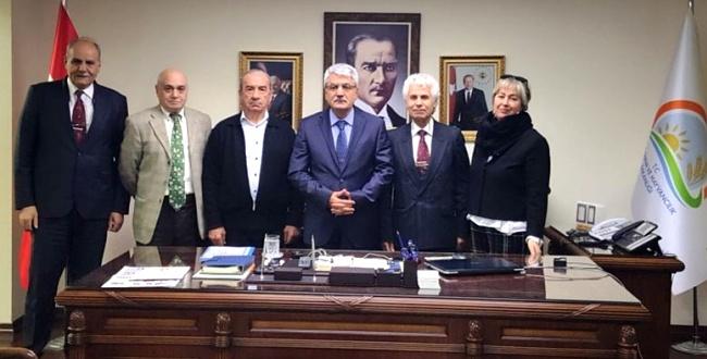 Habib Arslan'a tebrik ziyareti