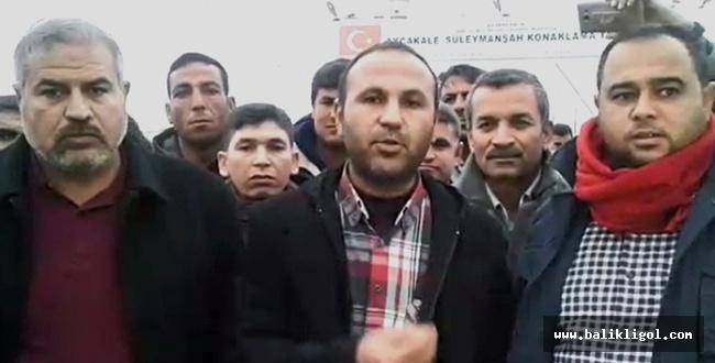 HÜDA PAR AFAD Kampı işçilerinin sorunlarını Kaymakama iletti