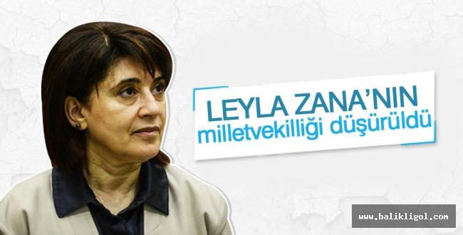 Resmi Gazete'de yayınlandı! Leyla Zana'nın Milletvekilliği Düştü