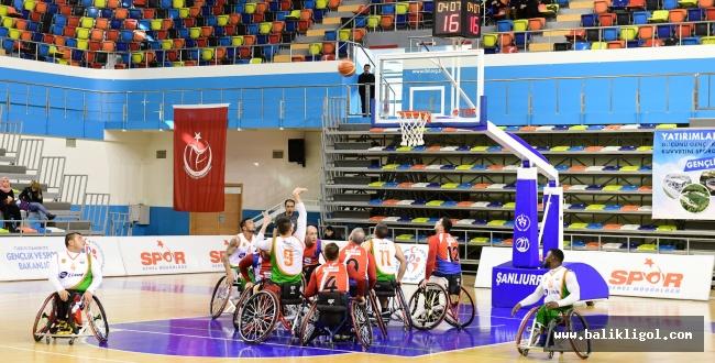 Şanlıurfa Engelliler Basketbol Takımı Potada Liderliğini Sürdürüyor