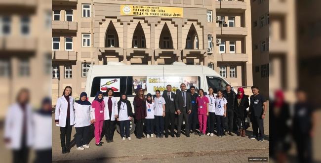 Şanlıurfa MEB Meslek Liseleri Hayata Dokunuyor