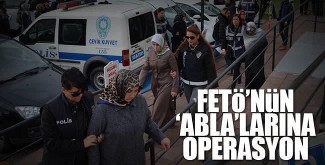 Urfa'da FETÖ Ablalarına Operasyon: 10 gözaltı...