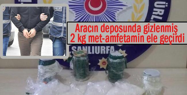 Urfa'da tacirlerine operasyon: 4 gözaltı