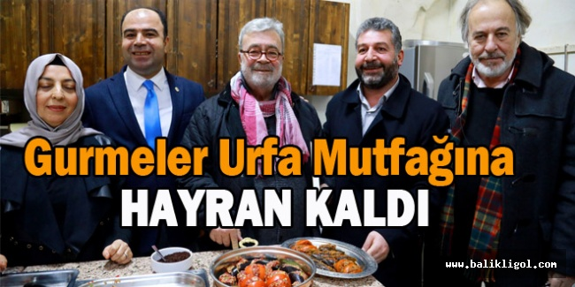 Urfa Mutfağı kebap ve lahmacundan ibaret değil
