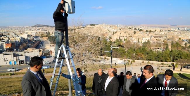 Urfa'daki O Mekanlar 24 Saat Kamera İle Takip Edilecek