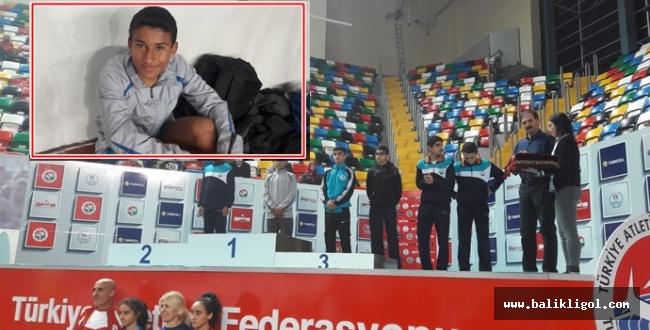 Urfalı sporcu Halil Tekin Türkiye Şampiyonu oldu