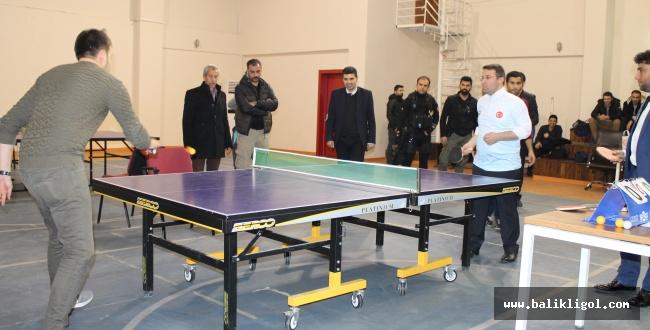 Viranşehir'de Şehit Ahmet Oktay Günak Tenisi Turnuvası