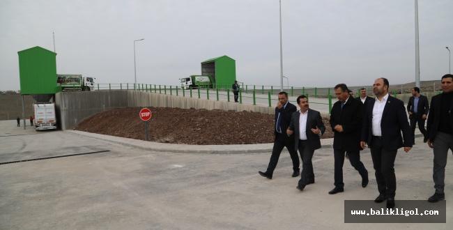 Başkan Çiftçi, Siverek Katı Atık İstasyonunu inceledi