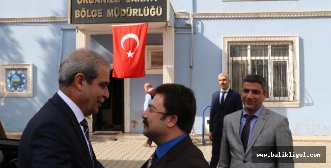 Başkan Demirkol, Osb Müdürlüğüyle İstihdamı Konuştu