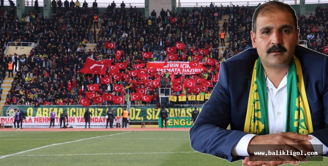 Başkan Yetim Urfaspor taraftarına çağrıda bulundu