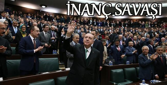 Erdoğan: Zeytin Dalı Operasyonu inanç işidir