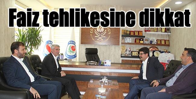 HÜDA PAR Şanlıurfa İl Başkanı Lokman Yalçın, Faiz tehlikesine dikkat çekti