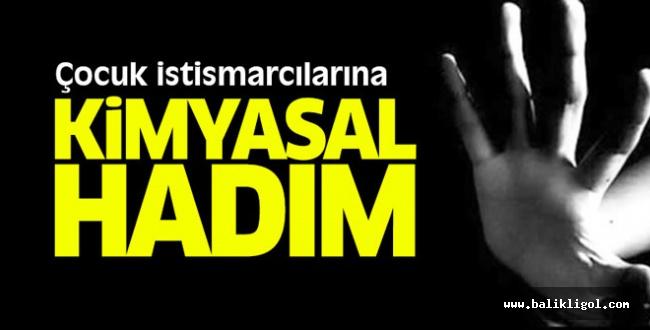Kararı Erdoğan Açıklayacak! Kimyasal hadım geliyor...