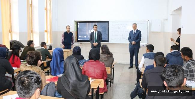 MEB Müdürü Demir'den DYK öğrencilerine ziyaret