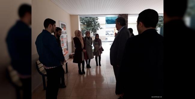 Rektör Taşaltın Kampüsü Gezerek Öğrencilerle Tek Tek İlgilendi