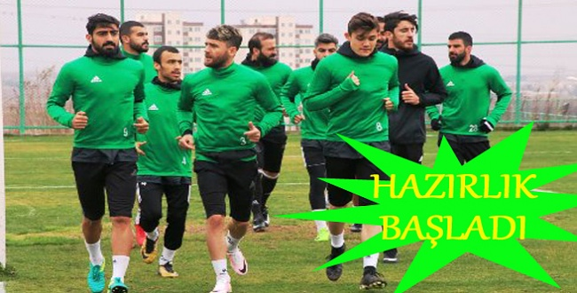 Şanlıurfaspor, Anadolu Selçukspor maçı hazırlığına başladı