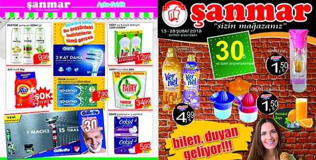 Şanmar'da indirimler devam ediyor İşte ürün fiyat listesi