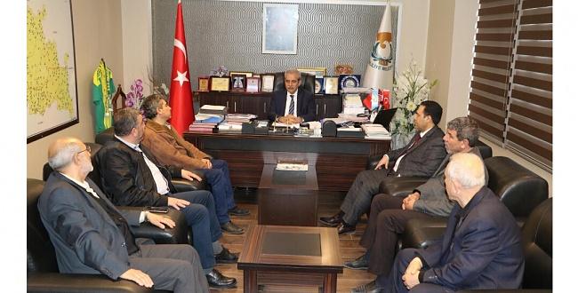Şehit ailesinden Başkan Demirkol'a ziyaret