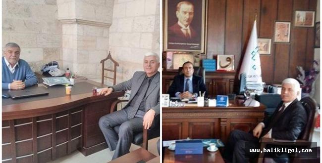 TYB Başkanı Sarmış'tan kurumlara ziyaret