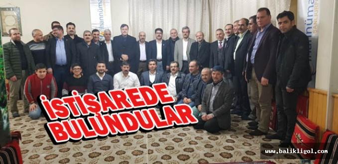 Urfa STK'ları Cihannüma'da toplandılar