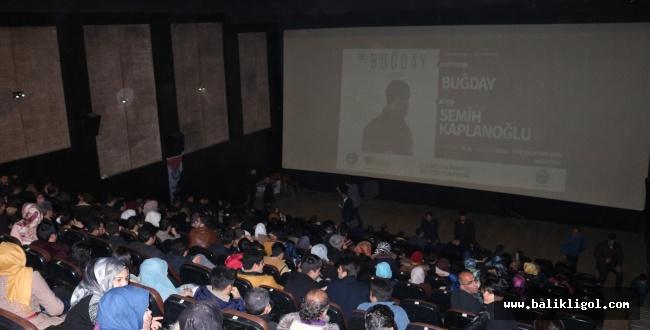 Yönetmen Semih Kaplanoğlu'nun son filmi Buğday'ı Urfa'da anlattı