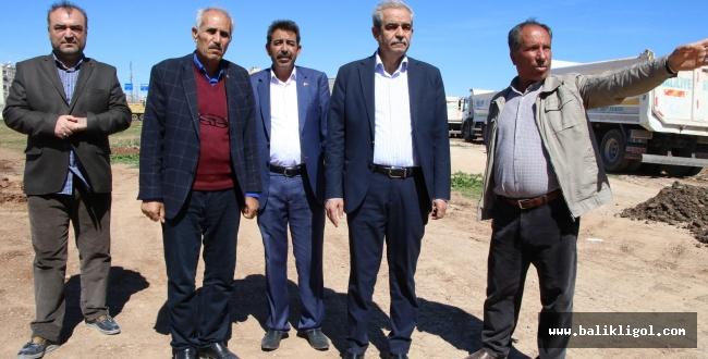 Başkan Demirkol, Sırrın ve İmam Bakır mahallelerinde incelemelerde bulundu