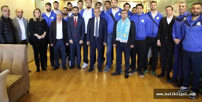Başkan Demirkol'e Şampiyonluk Sözü verdiler