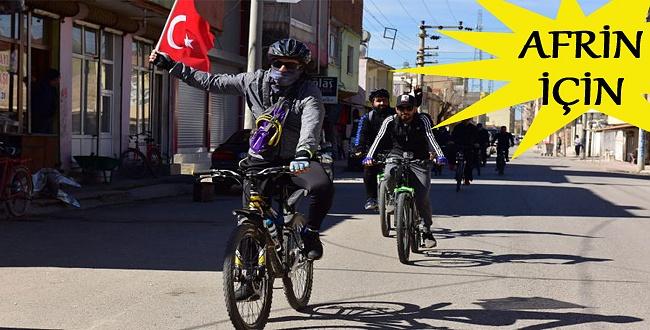 Ceylanpınar'da pedallar Afrin için çevrildi