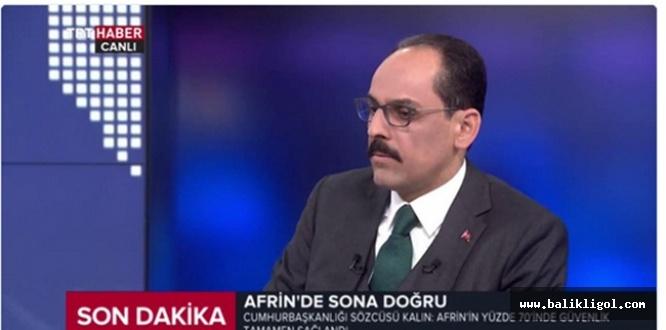 Cumhurbaşkanlığı Sözcüsü Kalın: İslam dünyasının 100 yıldır sormadığı soru...