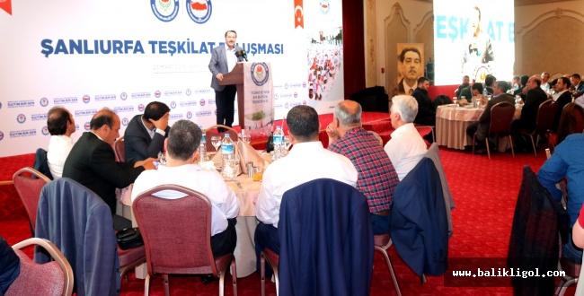 Eğitim Bir-Sen'den 'Şanlıurfa Teşkilat Buluşması' programı