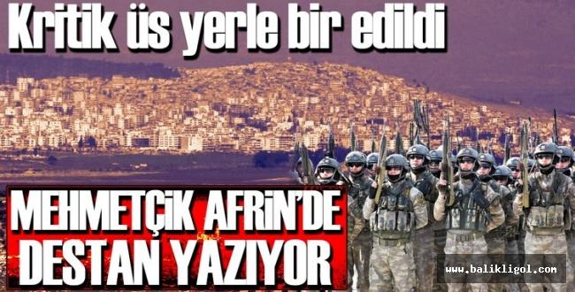 Genelkurmay Başkanlığı: Afrin kent merkezi kuşatıldı