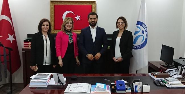 Gülizar Gülebak Medya-İş Kadın Kolları Başkan Yardımcılığına getirildi