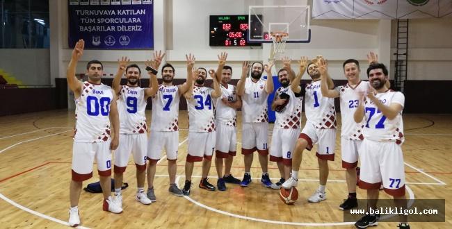 Hilvan Belediyespor, basketbolda 2'ncilik elde etti