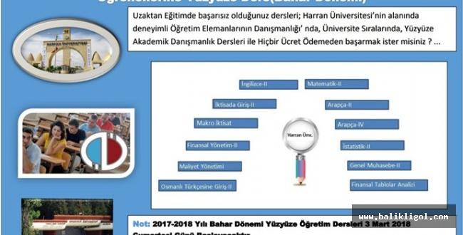 HRÜ'de Açık Öğretim Öğrencileri İçin Yüz Yüze Eğitim Başladı