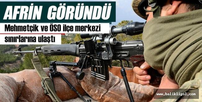 Mehmetçik Afrin'e dayandı! Her an Afrin'e girebiliriz
