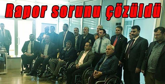 Şanlıurfa'da engellilerin rapor sorunu çözüldü