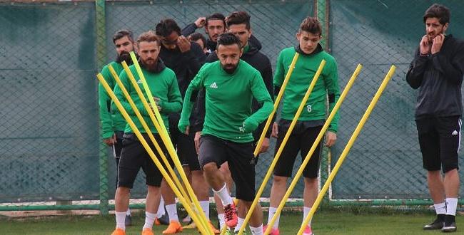 Şanlıurfaspor, Karşıyaka maçının hazırlıklarına başladı