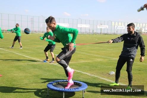 Şanlıurfaspor, Bandırmaspor maçı hazırlıklarını sürdürüyor