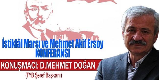 TYB Şanlıurfa Şubesi Mehmet Akif Ersoy'u anacak