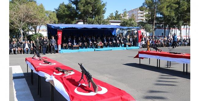Urfa'da Güvenlik Korucuları Yemin Töreni Yapıldı