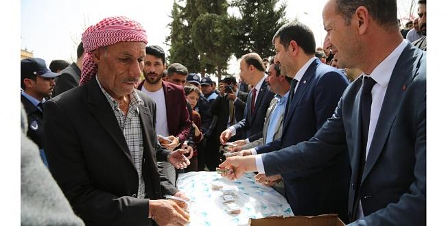 Urfa'da Şehit Er Hüseyin Koroç için mevlid okutuldu