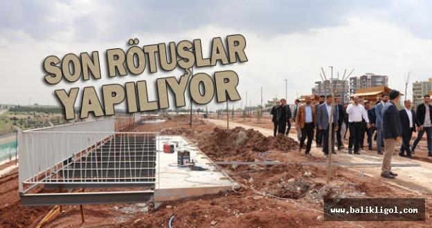 Urfa'da Vadi Proje çalışmaları sürüyor