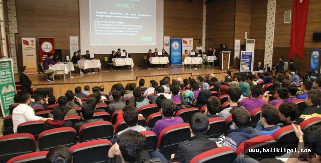 Urfa'da Okullar Arası Bilgi Yarışması